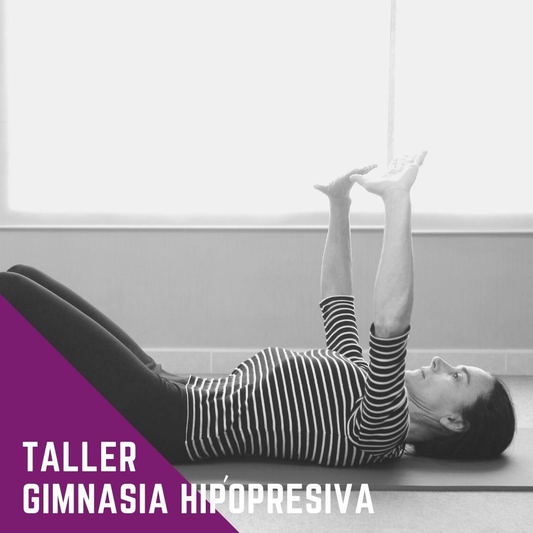 Taller de gimnasia hipopresiva